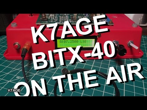 K7AGE BITX40 On The Air