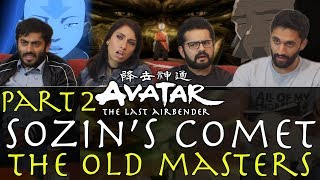Avatar: The Last Airbender - 3x19 Sozin's Comet Pt 2, The Old Masters - Group Reaction
