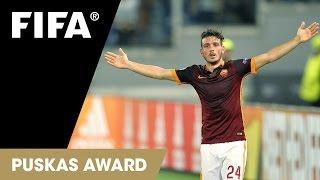 Alessandro Florenzi Goal: FIFA Puskas Award 2015 Nominee