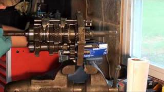 механічна коробка передач відновити частина 5 AX15 .