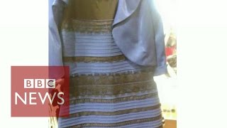 The dress question stressing the world...- BBC News