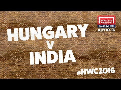 Hungary v India l Second Stage Group B #HWC2016