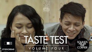 Sounds From The Corner : Taste Test  - Sarah Sechan & Nazril Irham (Ariel NOAH)