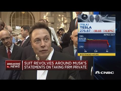 Musk's history with short sellers