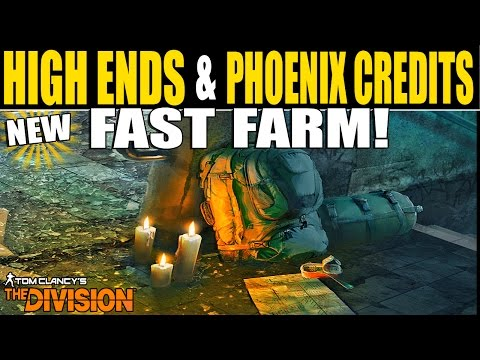 The Division: FASTEST WAY TO GET HIGH ENDS, AND PHOENIX CREDITS! (The Division Glitches)