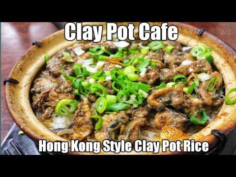 Clay Pot Cafe -Boston,MA - Hong Kong Style Clay Pot Rice - Spare Rib Clay Pot - Yellow Eel Clay Pot