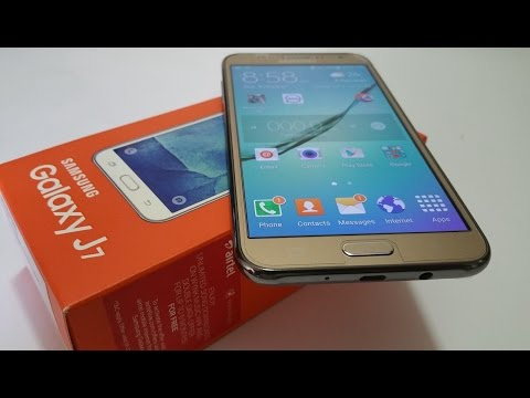 Samsung Galaxy J7 (4G) - Unboxing & First Look!