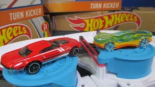 DOUBLE Turn Kicker Test as seen on the Hot Wheels YouTube channel: Finding Todd