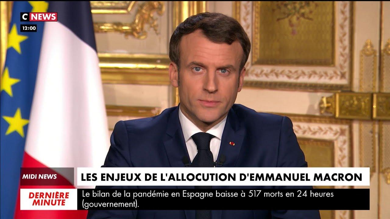 Coronavirus : les enjeux de l'allocution d'Emmanuel Macron