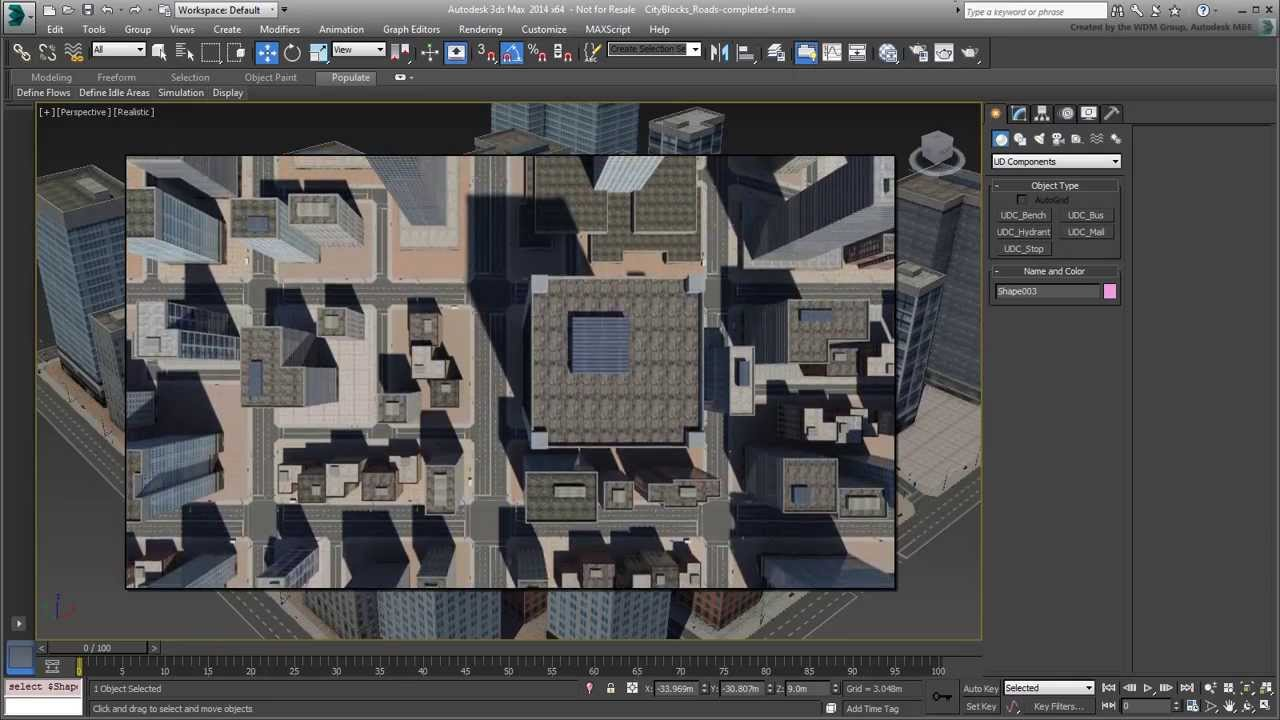 3ds Max Creating City Blocks Part 1 Introduction