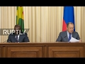 LIVE: Lavrov and Burkina Faso FM Alpha Barry hold press conference in Moscow