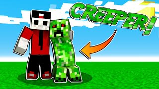 HO GIOCATO IN CREATIVA COME CREEPER - Minecraft ITA