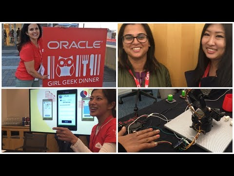 Oracle Hosts a Bay Area Girl Geek Dinner for 400