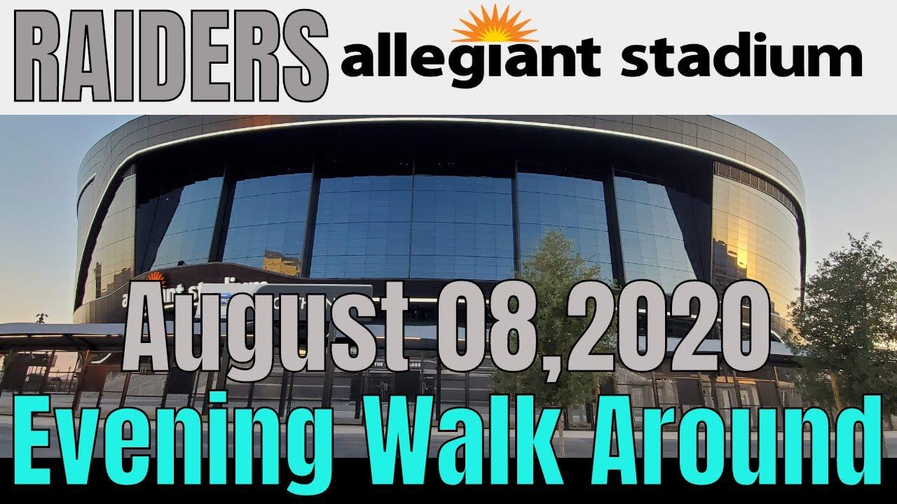 Las Vegas Raiders Allegiant Stadium Update 08 08 2020