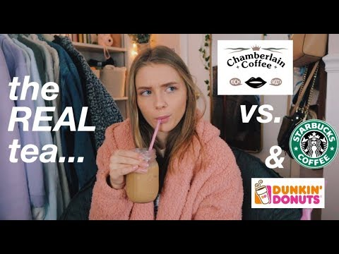 is-emma-chamberlain's-coffee-better-than-starbucks-and-dunkin?-(the-real-tea)