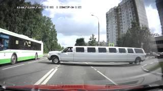 Маневры на лимузине