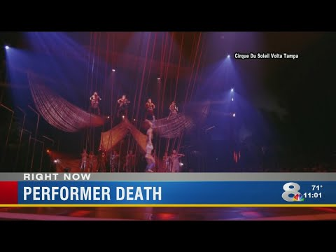 Cirque du Soleil aerialist plunges to his death during Tampa performance