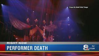 Cirque du Soleil aerialist plunges to his death during Tampa performance