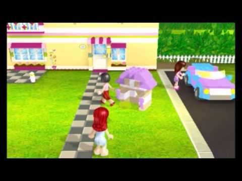 Lego Friends 3DS Part 1 - YouTube