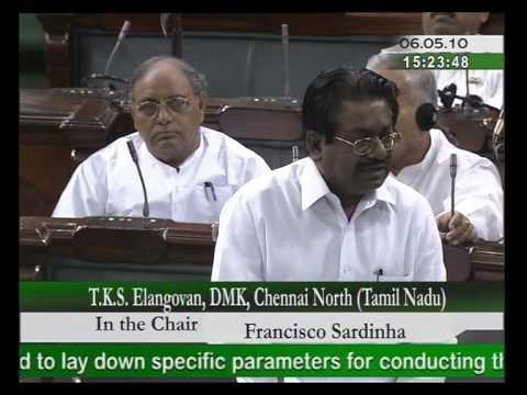 Classic example in Tamilnadu on Castes - TKS Elangovan