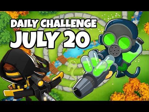 BTD6 Daily Challenge - Quit Darting Around - July 20 2019