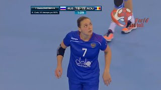 Russia X Romania WOMEN'S EHF EURO 2018 QUALIFICATION FULL MATCH