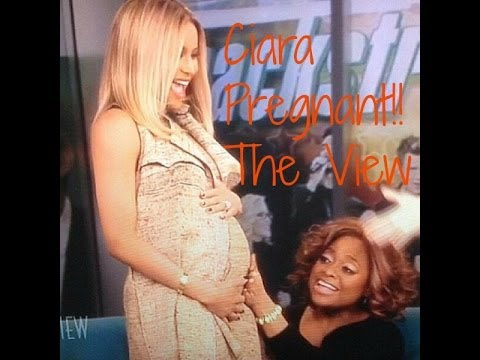 CIARA IS PREGNANT! Announces it on The View