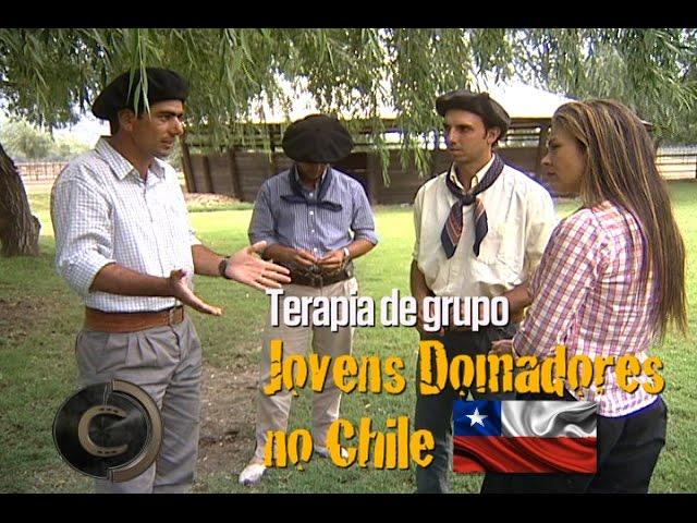Jovens domadores no Chile - Terapia de Grupo