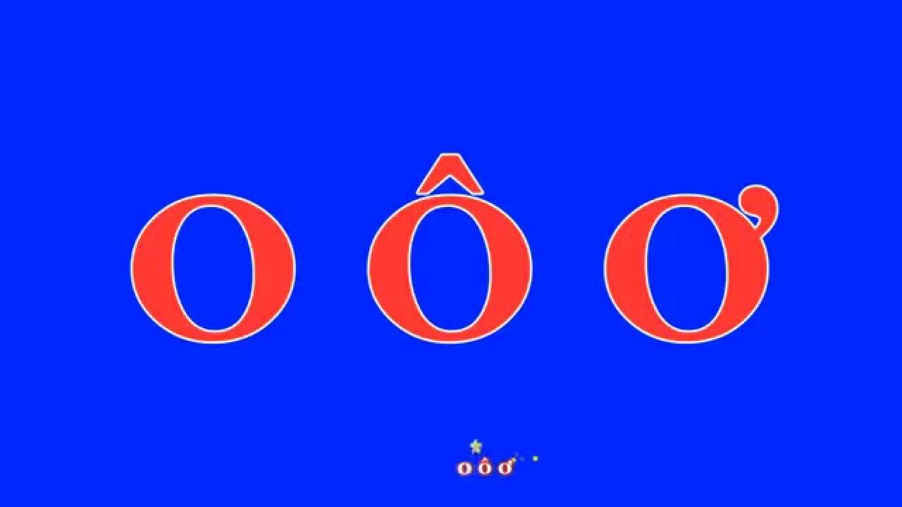 image [bài hát] o ô ơ - Bé học chữ o ô ơ