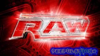 Monday Night RAW Theme - Burn It To The Ground - Nickelback (Arena Effect)