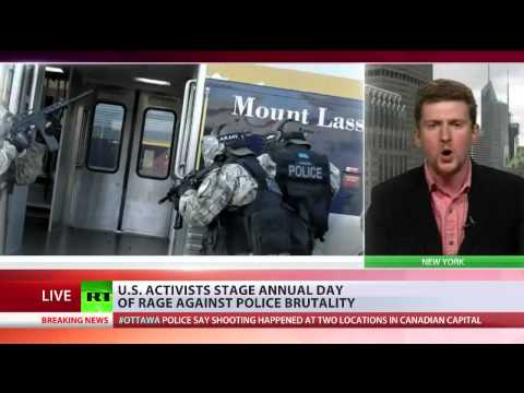 Caleb Maupin interview with RT International on U.S. police brutality