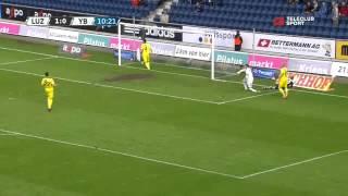 FC Luzern vs Young Boys Bern 3-1 / Raiffeisen Super League / 11.05.2013