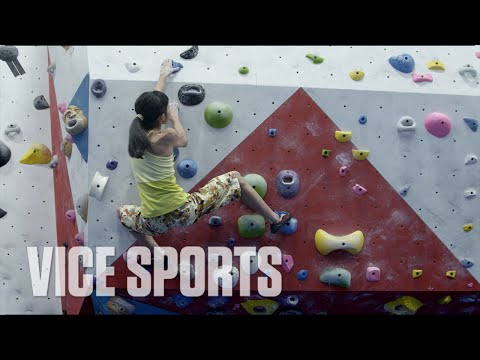 The 14-Year-Old Female Rock Climbing Phenom - YouTube
