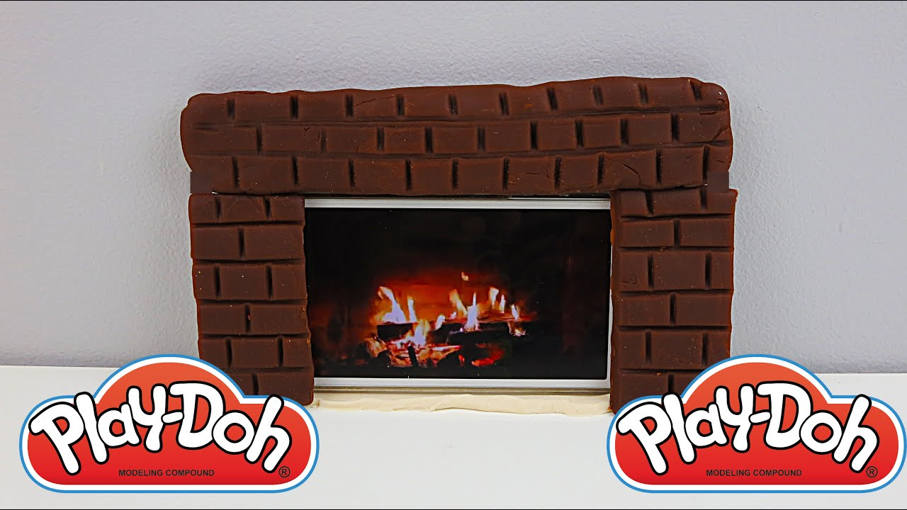 How To Make a Play Doh Fireplace! Awesome! Yay! Toy Unboxing - YouTube
