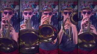 Mark Ronson Uptown Funk for Brass Quintet with sheet music.mp3