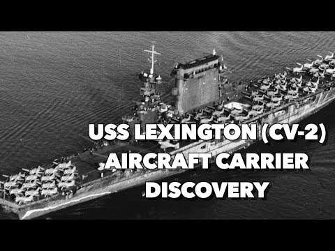 Discovery Of USS Lexington Located In Coral Sea