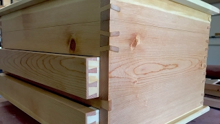 Making of the Twisted Dovetail Wine Chest (extended)