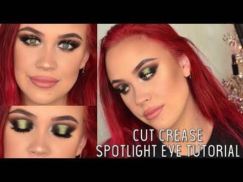 cut crease spotlight eye tutorial  makeup tutorial  youtube