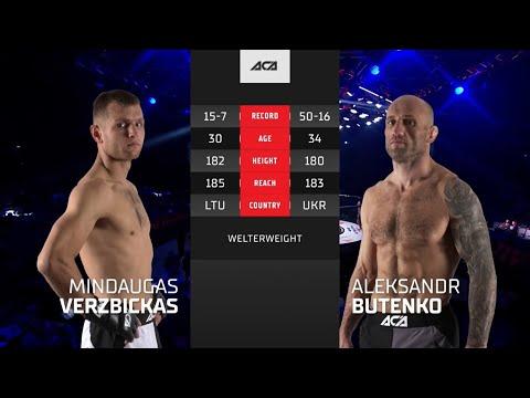 ACA 128: Миндагас Вержбицкас vs. Александр Бутенко | Mindaugas Verzbickas vs. Aleksandr Butenko