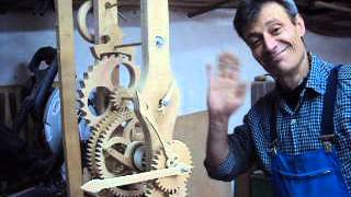 Wooden Clock From Ivo Kunchev Bulgaria