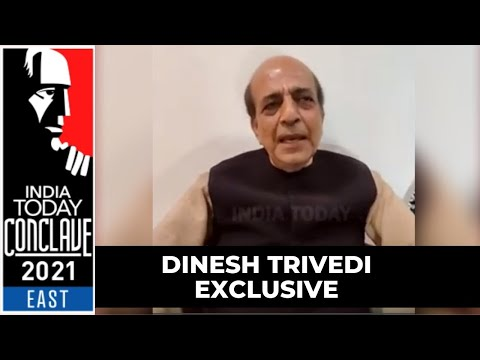 Dinesh Trivedi Exclusive On His Resignation As TMC Rajya Sabha MP | India Today Conclave East 2021