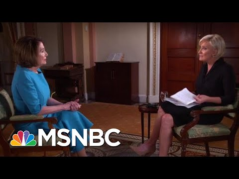 Speaker Nancy Pelosi: Rep. Justin Amash's Voice Speaks To GOP Silence | Morning Joe | MSNBC