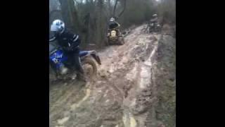 Northampton mx 2 bikes 1 quad stuck