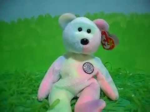 Ty Beanie Baby B. B. BEAR (1999) - YouTube 5e0e7d35ab8