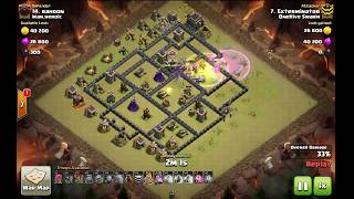 GoBoLaLoon (Golalo) against max th9. strongest 3 star war attacking strategy. Clash of clans