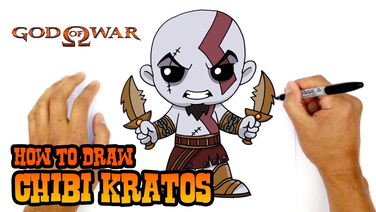 How To Draw Kratos God Of War