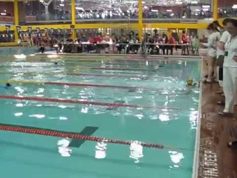 Toronto olympian swim team bishan amendra set up a new record youtube for Fairbank swimming pool toronto
