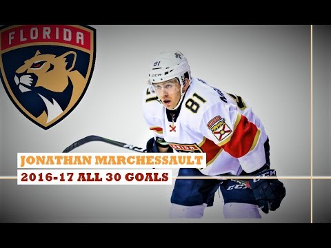 Jonathan Marchessault (#81) ● ALL 30 Goals 2016-17 Season (HD)