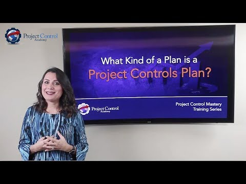 What kind of a plan is a Project Controls Plan (PCP)?