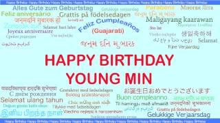 Young Min   Languages Idiomas - Happy Birthday